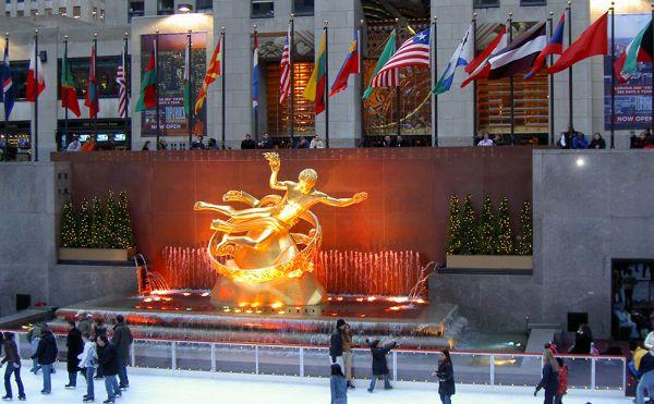 Rockefeller Center: 15 minutes